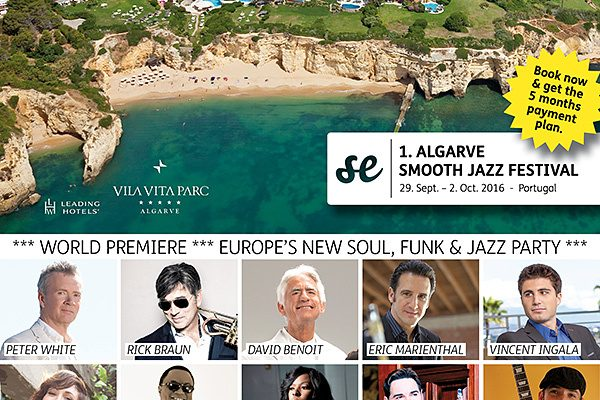 Algarve Smooth Jazz Festival – September 29 – October 2 2016