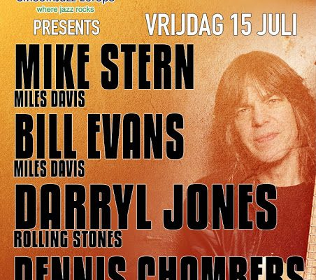 MIKE STERN & BILL EVANS BAND – Metropool – 15 July 2016